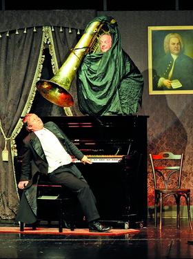 Bild: Gogol & Mäx: Concerto Humoroso - Die Konzertakrobaten