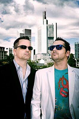 Bild: Johannes Scherer und Andy Ost - Very nice