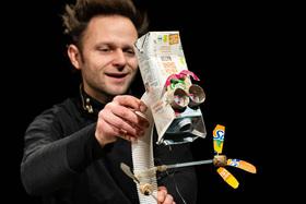 Bild: NICHTS oder Herr Käseweis fliegt zum Mond // Figurentheater für Kinder