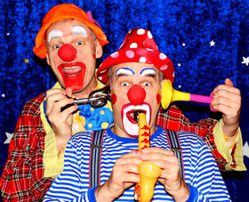 Bild: Clowns Ratatui - Lustiges Clowntheater ab 4 Jahren