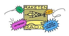 RAKETENRADIO - live! - Radioshow vor Publikum mit BRTHR, Aliki Schäfer & Andreas Vogel