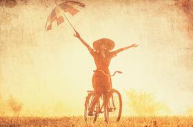 Bild: Bike & Show - 10. Fahrradtheater - 1. Tour