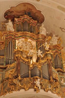 Bild: Renata Marzec, Cello;  Radoslaw Marzec, Orgel / Polen