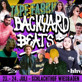 TAPEFABRIK BACKYARD BEATS - FloFilz / Maura & Fred Red / Miss Control / Saltyyyy V / S. Fidelity