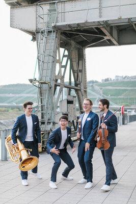 Neujahrskonzert: Hanke Brothers - zwei:takt Konzert