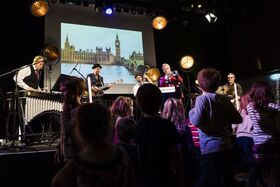 """Bild: NUE JAZZ for Kids """"Eine musikalische Reise durch die Welt""""   ab 6 Jahren - Familienkonzert"""