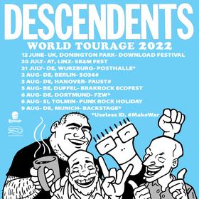 DESCENDENTS - World Tourage 2022