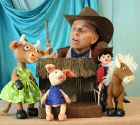 Bild: Kindertheater: Cowboy Klaus & das pupsende Pony - im Rahmen des Jungen Kultursommers Mittelhessen