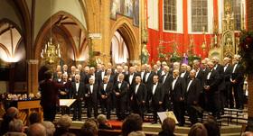 Bild: Ulfts Mannenchor - Festliches Adventskonzert und Weihnachtskonzert mit Bläserensemble