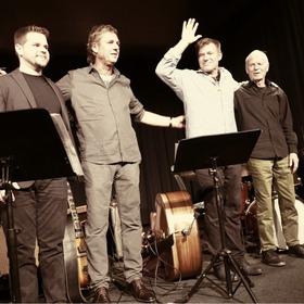 Bild: Ulf Meyer/Martin Wind Quartett - feat. Billy Test (piano) und Alex Riel (drums)