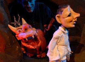 Bild: Theater der Nacht - Teufel mit den drei goldenen Haaren