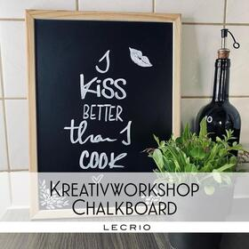 Bild: Kreativworkshop Chalkboard