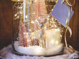 Bild: Winter im Glas
