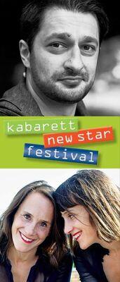 Bild: Sulaiman Masomi & Die Goldfarb Zwillinge - Kabarett-Newstar-Festival
