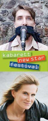 Bild: Juri von Stavenhagen & Lucy van Kuhl - Kabarett-Newstar-Festival