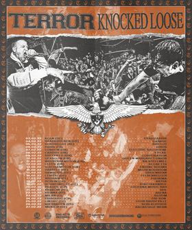 TERROR I KNOCKED LOOSE - EU/UK TOUR 2022