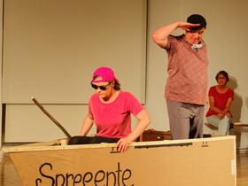 Bild: Die Spreeenten sind InnenDrinnen - Improtheater