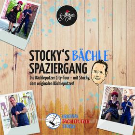 Bild: Stocky´s Bächle-Spaziergang - Die Bächleputzer City-Tour – mit Stocky, dem originalen Bächleputzer!