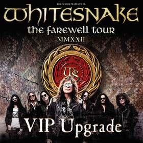 Bild: WHITESNAKE - THE FAREWELL TOUR VIP Upgrade