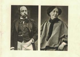 Bild: Gustave Flaubert, George Sand: Eine Freundschaft in Briefen - Matinee zu Flauberts 200. Geburtstag, mit Sieglinde Eberhart und Tobias Scheffel