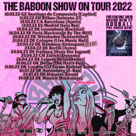 THE BABOON SHOW - Live in Leipzig 2022