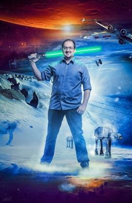 Bild: Sascha Vogel: Physik in Hollywood – Die Science-Show