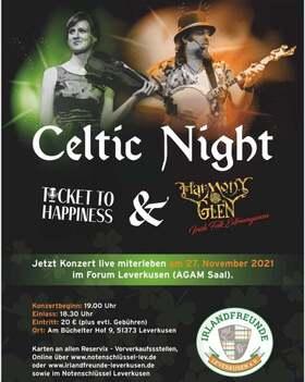 Celtic Night - mit Ticket to Happiness und Harmony Glen