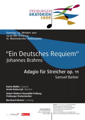 Bild: Freiburger Oratorienchor: Johannes Brahms -