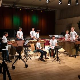 Bild: JugendPercussionEnsemble Hessen - Akademiekonzert