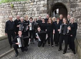Bild: Akkordeon-Orchester trifft Saxophon - Saxophon - Ralf Bazzanella  Leitung: Johannes Burgard