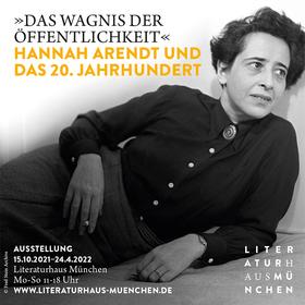 Bild: Hannah Arendt und das 20. Jahrhundert - Feierabendführung mit Anna Seethaler