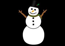 Bild: Der Schneemann