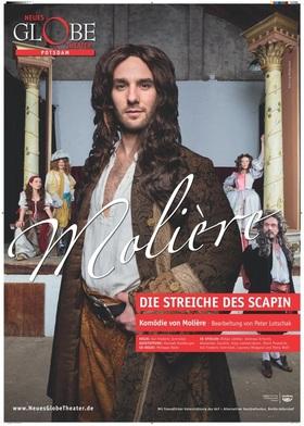 Bild: Neues Globe Theater Potsdam - Die Streiche des Scapin - Komödie von Molière