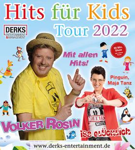Bild: Das Original - Hits für Kids  - Tour  `22 - Volker Rosin und Isa Glücklich