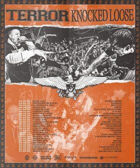 TERROR + KNOCKED LOOSE - EU/UK Tour 2022