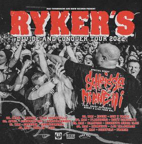 RYKER'S + Grove Street Families + Eyes of Tomorrow - Winter Tour 2021