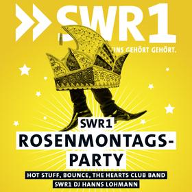 Bild: SWR1 Rosenmontagsparty - Mit Hot Stuff, Bounce-Bon Jovi Tributeband, The Hearts Club Band, DJ Hanns Lohmann