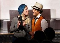 Bild: Bonnie und Clyde - eine rasantes Theaterstück über das berüchtigte Gangsterpärchen