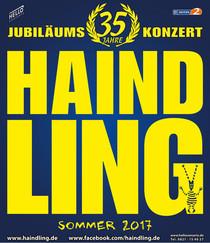 HAINDLING - 35 Jahre Bühnenjubiläum Konzert Sommer 2017