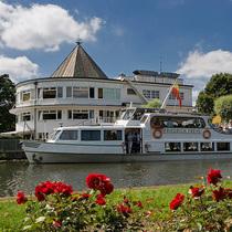 Bild: Vom Kanal zum Wasserbahnhof Mülheim - auf der MS Baldeney