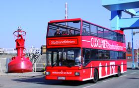 Bild: Cuxliner Stadtrundfahrt in Cuxhaven