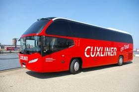 Bild: Helgoland DI + FR über Cuxhaven, Bus ab Wremen + Dorum + Nordholz/Spieka - nach Helgoland