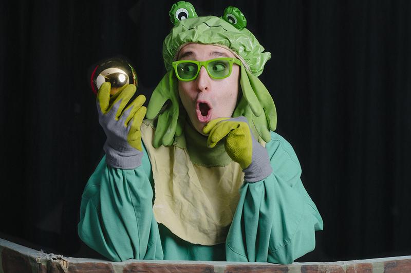 Der Froschkönig - Stream - Märchentheater im Stream
