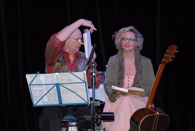 Günter Stössel und Anja Seidel -