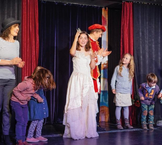 Der Froschkönig Erzähltheater - für Kinder ab 4 Jahren