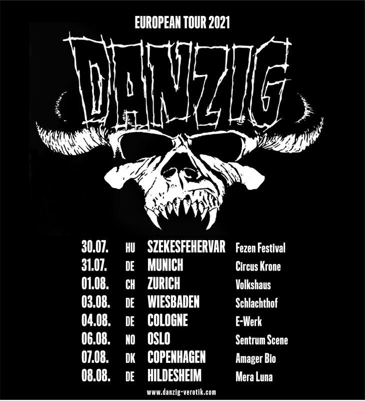 DANZIG - European Tour 2021