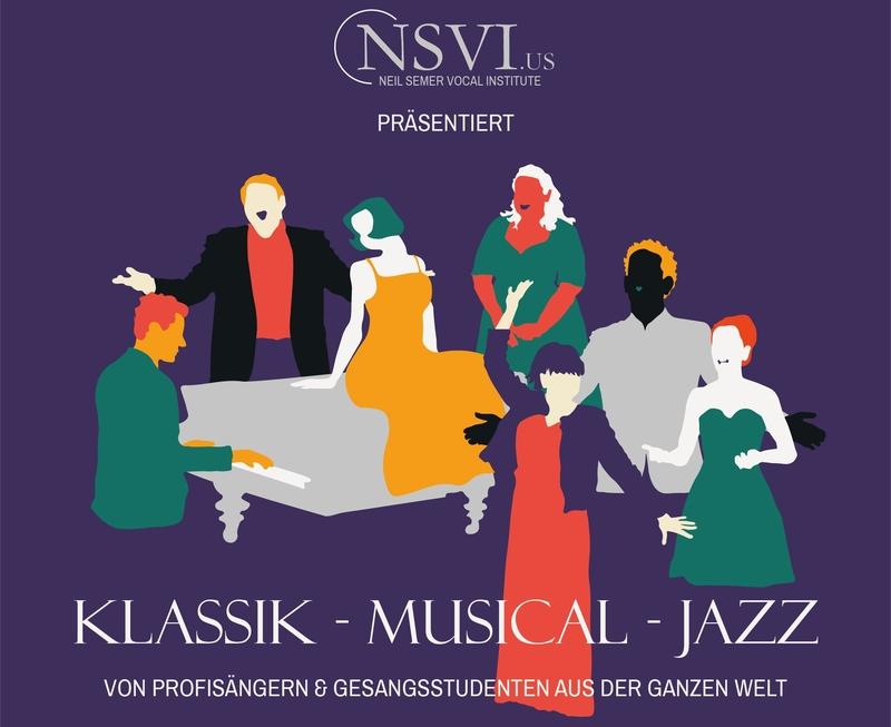 Konzert des internationalen Meisterkurses für Sänger - präsentiert vom Neil Semer Vocal Institute