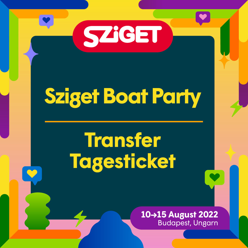 Sziget Boat Party - Day TRANSFER ticket - Sziget Boat Party - Sonntag TRANSFER  ticket