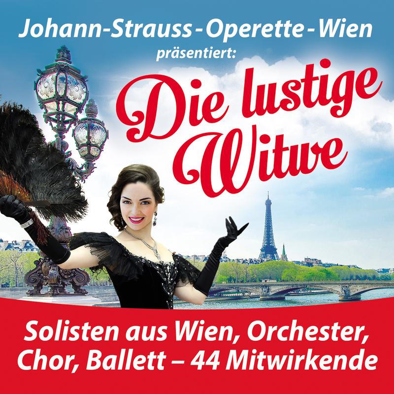 Die lustige Witwe - Johann-Strauss-Operette-Wien