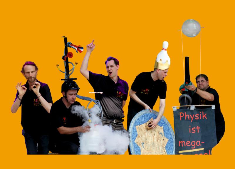 Physik-Event - Die einzige Physikshow in 4 D